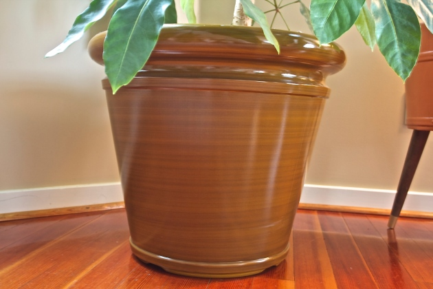 brown planter