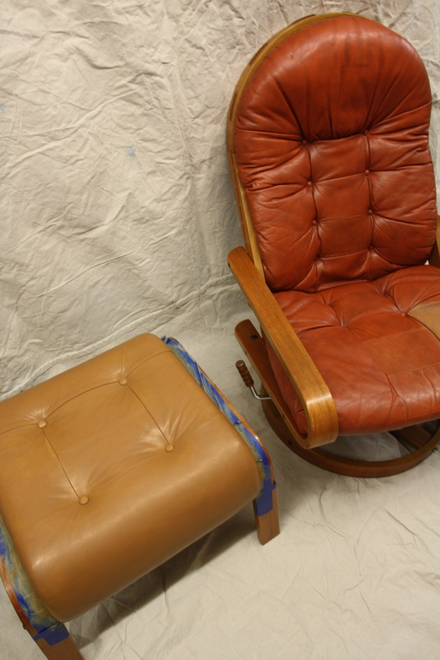 Red House West||Dyeing Leather