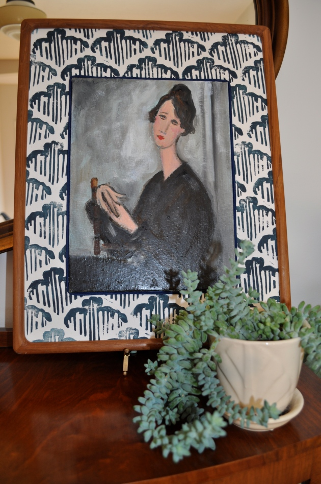 Red House West//Inexpensive ways to display art